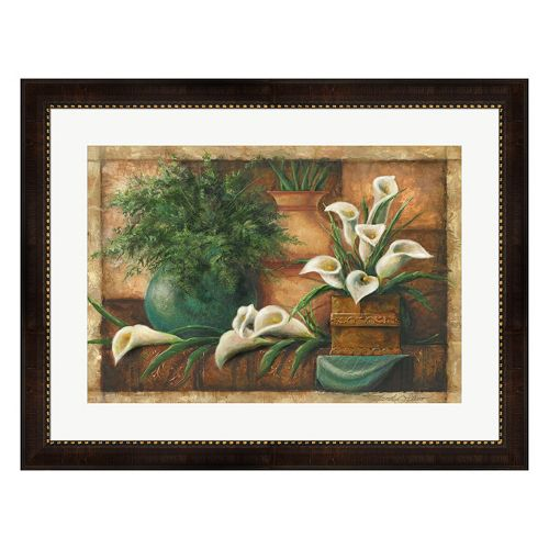 Metaverse Art Vessels & Callas Framed Wall Art