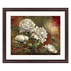 Metaverse Art Praise II Peonies Framed Wall Art