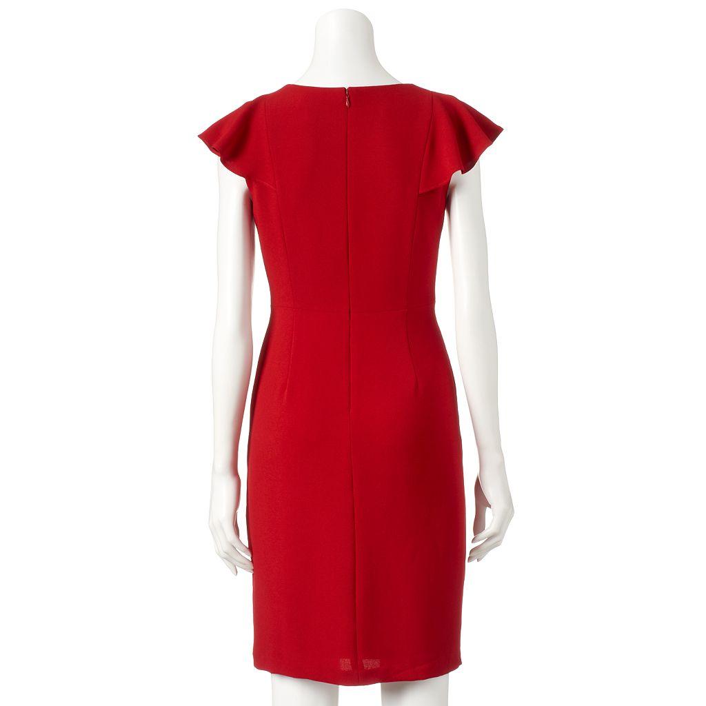 Women's Chaya Ruffle Sheath Dress