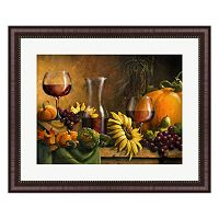 Metaverse Art Autumn Bounty Framed Wall Art