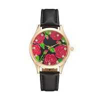Women's Crystal Flower Watch