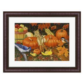 Metaverse Art Autumn Bounty Framed Wall Art