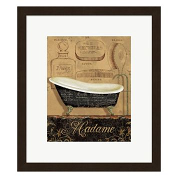 Metaverse Art Bain de Madame Framed Wall Art