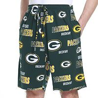 Men's Green Bay Packers Sweep Lounge Shorts
