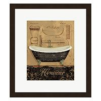 Metaverse Art Bain de Monsieur Framed Wall Art