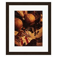 Metaverse Art Soccer Framed Wall Art