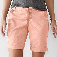 Women's SONOMA Goods for Life™ Chino Bermuda Shorts