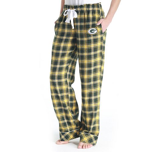 Women s Green Bay Packers Captivate Flannel Pants 056365377