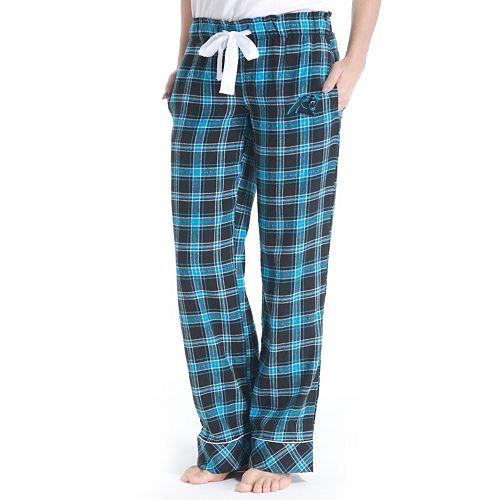 check out 61e8d 1d854 Women's Carolina Panthers Captivate Flannel Pants