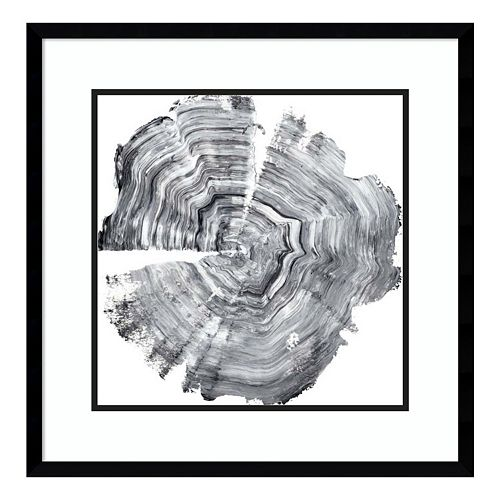 Tree Ring Abstract IV Framed Wall Art