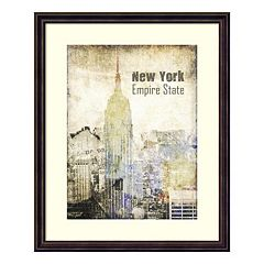 New York Grunge II Framed Wall Art