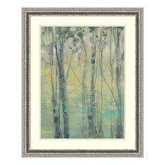 The Light In The Trees I Framed Wall Art