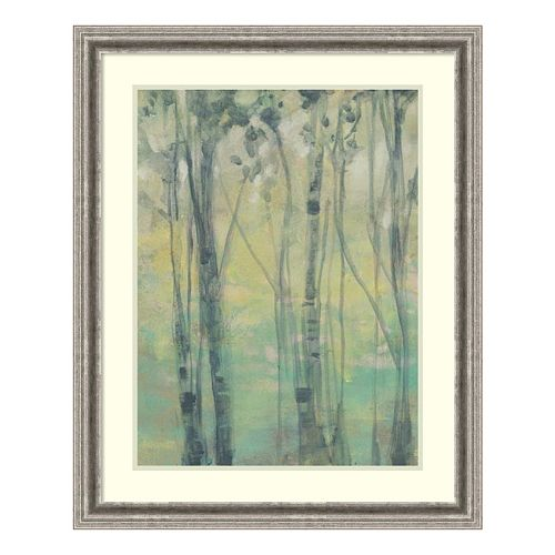The Light In The Trees I Framed Wall Art