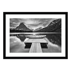 Two Medicine Lake Framed Wall Art