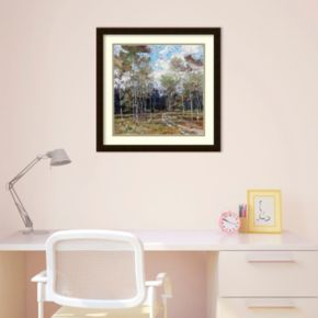 Summer In The Hills Framed Wall Art