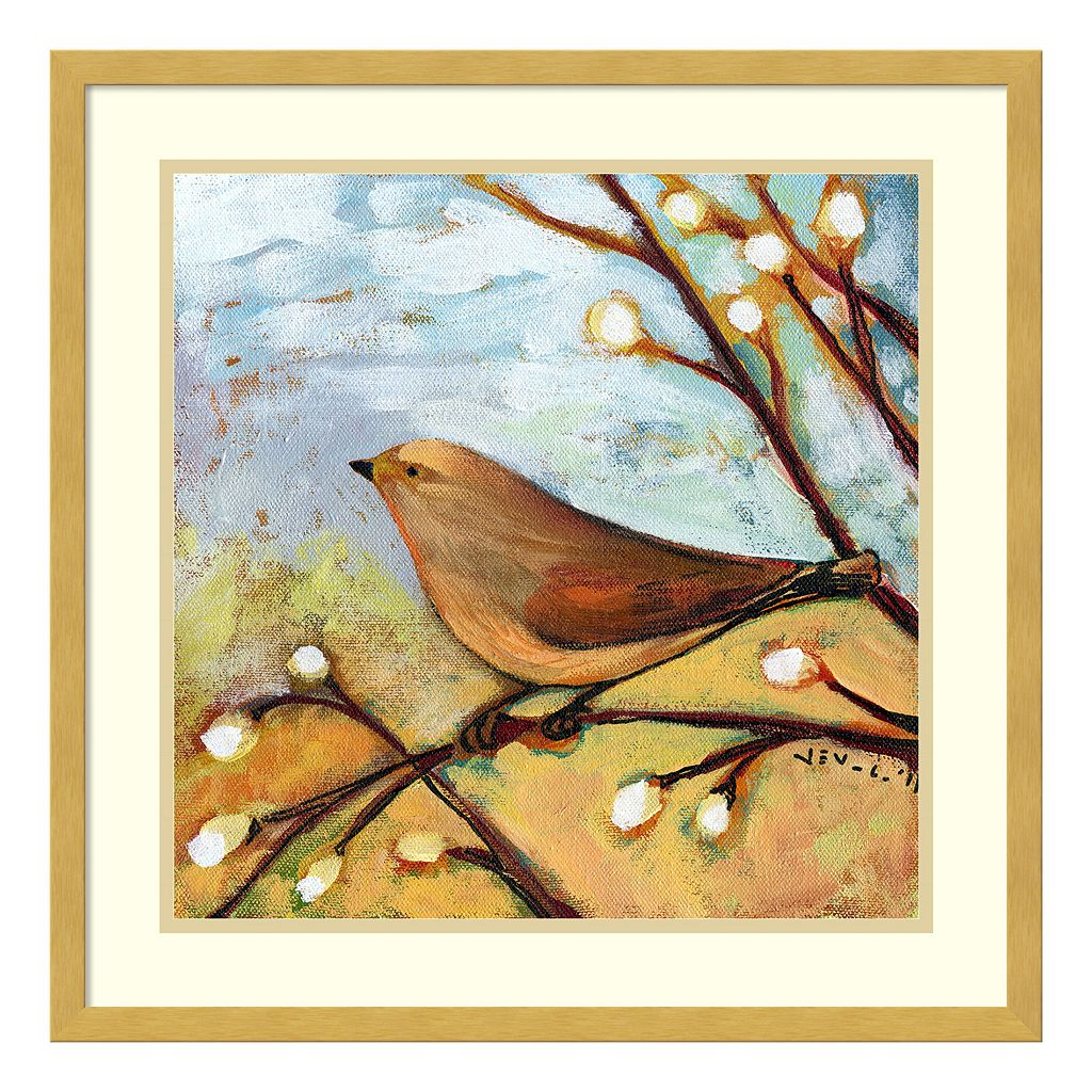 Longing For You Part II Bird Framed Wall Art