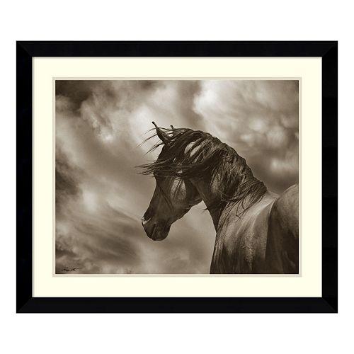 The Renegade Horse Framed Wall Art