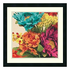 Pop Art Flowers I Framed Wall Art