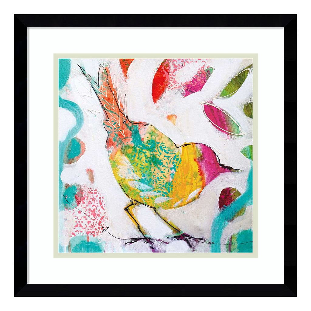 Petite Bird IV Framed Wall Art