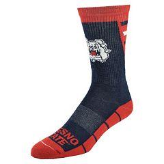 Women's Mojo Fresno State Bulldogs Energize Crew Socks