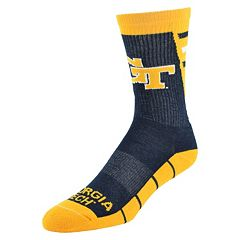 Women's Mojo Georgia Tech Yellow Jackets Energize Crew Socks