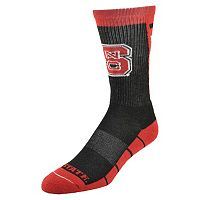 Women's Mojo North Carolina State Wolfpack Energize Crew Socks