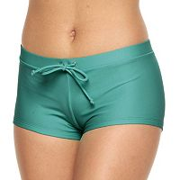 Mix and Match Solid Boyshort Bottoms