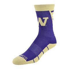 Women's Mojo Washington Huskies Energize Crew Socks