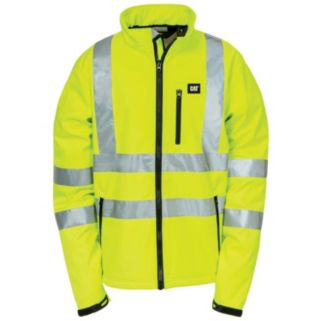 Men's Caterpillar Hi-Visibility Softshell Jacket