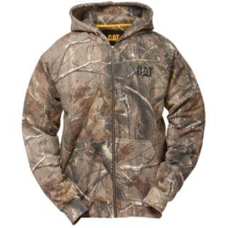 Men's Caterpillar Camo Full-Zip Hooded Sweatshirt