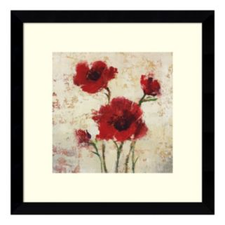 Simply Floral I Framed Wall Art