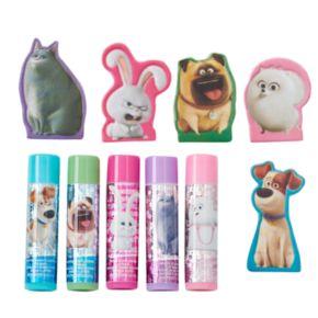 Girls 4-16 DreamWorks The Secret Life of Pets 5-pk. Lip Balm & Finger Puppet Set