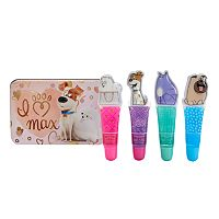 Girls 4-16 DreamWorks The Secret Life of Pets 4-pk. Lip Gloss & Tin Set