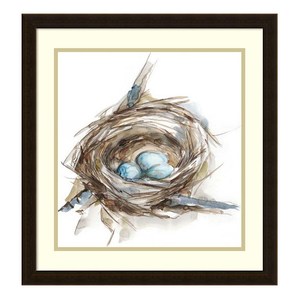 Bird Nest Study II Framed Wall Art