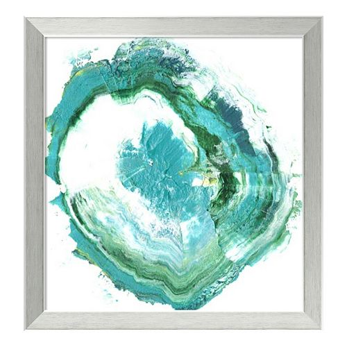 Geode Abstract II Framed Wall Art