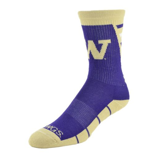 Men's Mojo Washington Huskies Energize Crew Socks