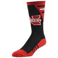 Men's Mojo Nebraska Cornhuskers Energize Crew Socks
