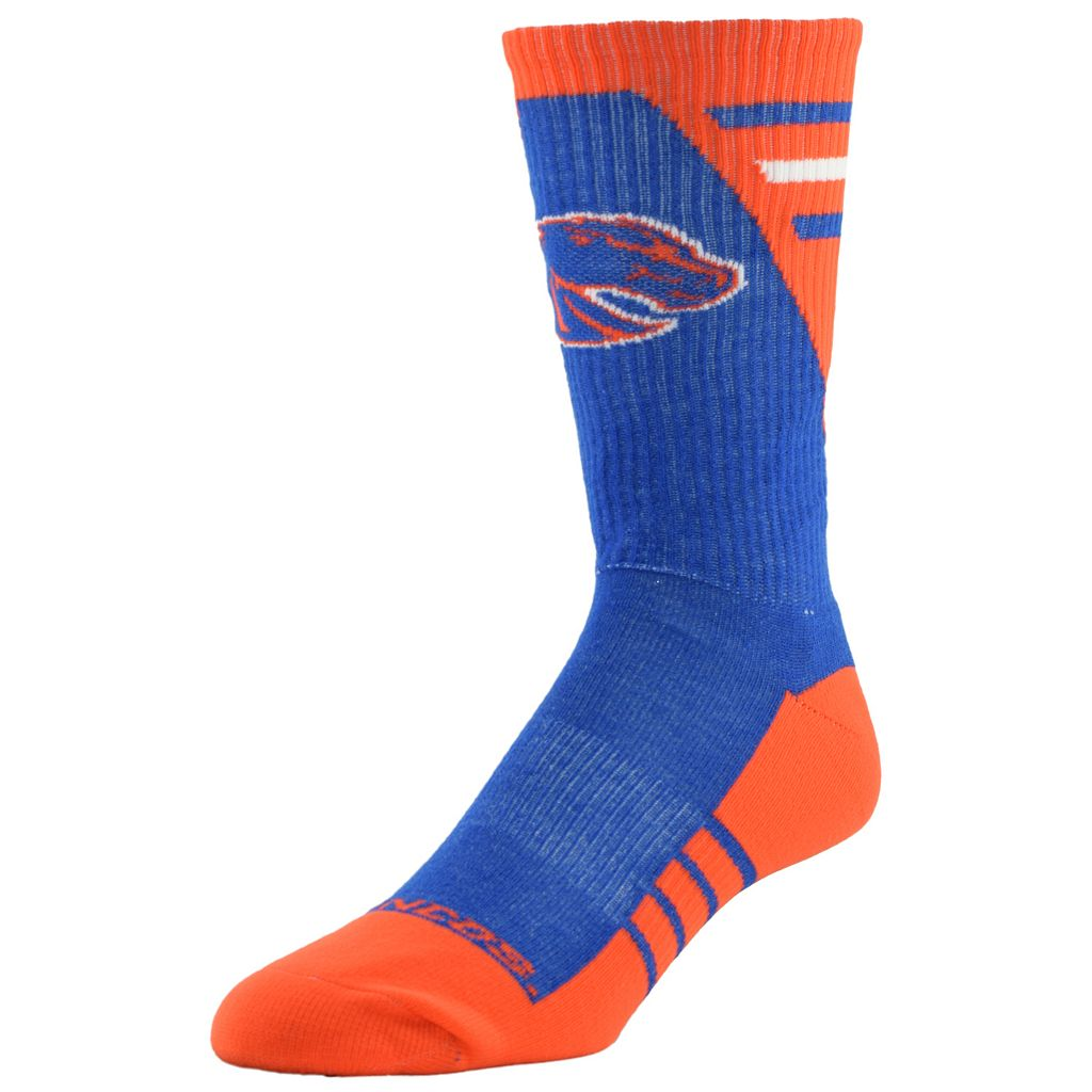 Men's Mojo Boise State Broncos Energize Crew Socks