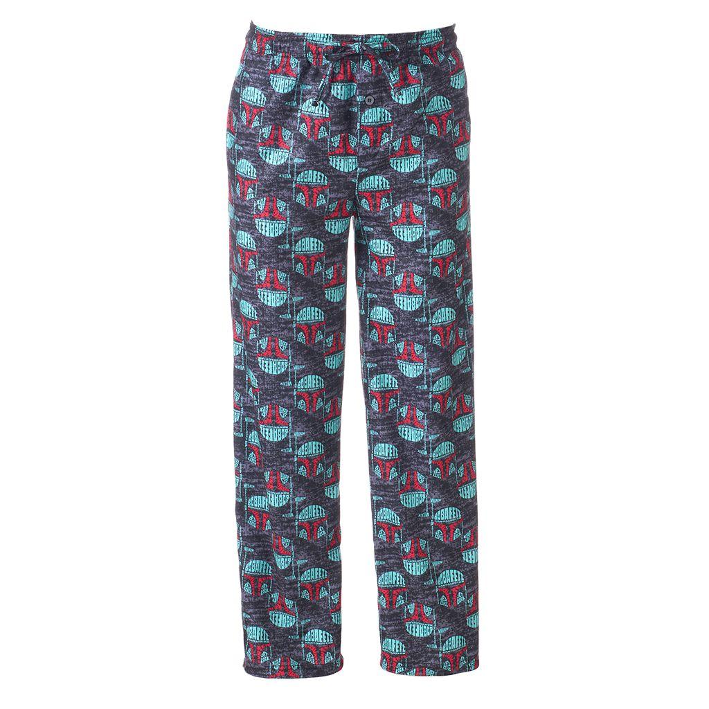 Men's Star Wars Boba Fett Sublimated Microfleece Lounge Pants