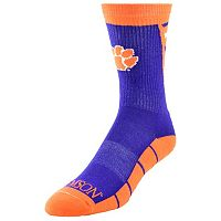 Men's Mojo Clemson Tigers Energize Crew Socks