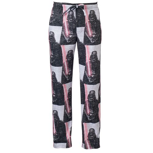 Men's Star Wars Character Sublimated Microfleece Lounge Pants