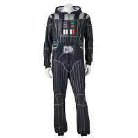 Men's Star Wars Darth Vader Pillow Pack Microfleece Union Suit