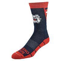 Men's Mojo Fresno State Bulldogs Energize Crew Socks