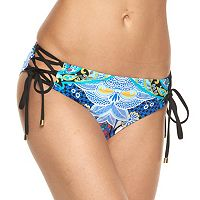 Women's Apt. 9® Lace Up Hipster Bikini Bottoms