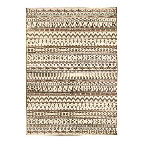 Ruggable 174 Washable Cadiz Striped 2 Pc Indoor Outdoor Rug