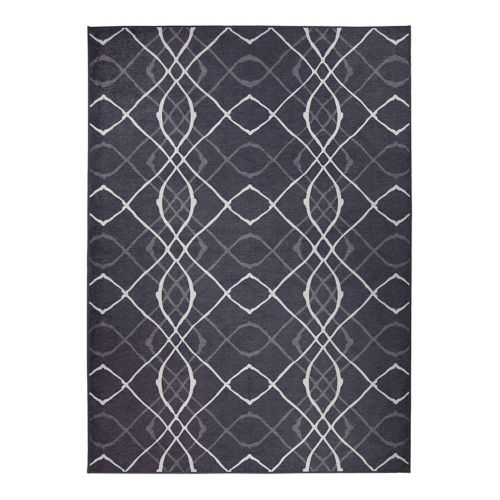 Ruggable® Washable Amara Geometric 2-pc. Indoor Outdoor Rug System – 5′ x 7′
