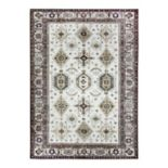 Ruggable® Washable Noor Framed Floral 2 pc Indoor Outdoor Rug System