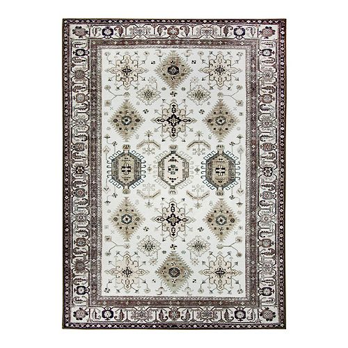 Washable Play Rugs: Ruggable® Washable Noor Framed Floral 2-pc. Indoor Outdoor