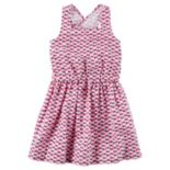 Toddler Girl Carter's Elephant Geometric Print Dress