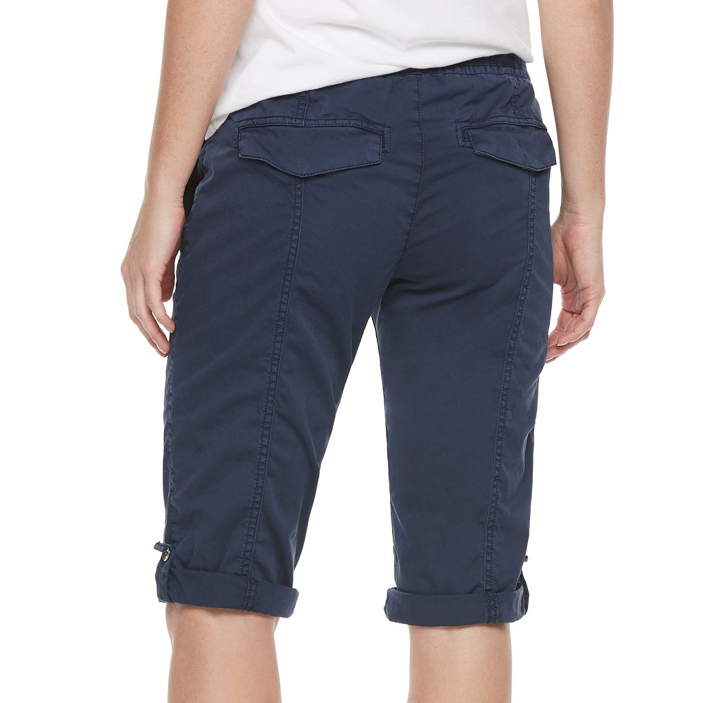 Women's SONOMA Goods for Life™ Solid Pull-On Skimmer Shorts